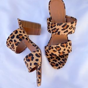 VARIOUS SIZES BRAND NEW- Leopard Heels